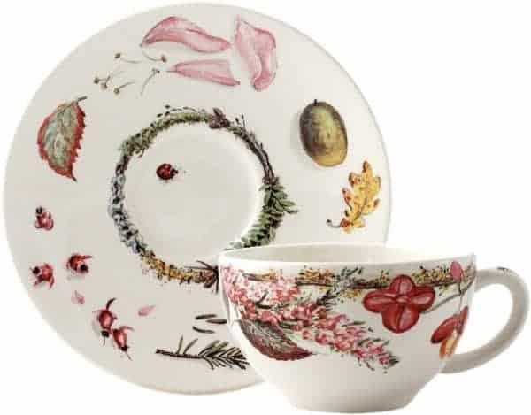 2 Tea cup & saucer