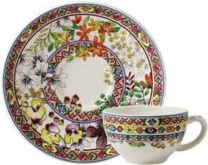 2 Tea cups & scrs