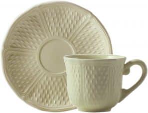 6 Tasses et soucoupes thé U.S.