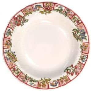 6 Soup plates