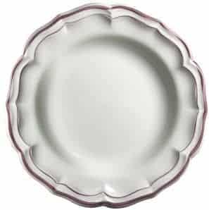 1 Round deep dish