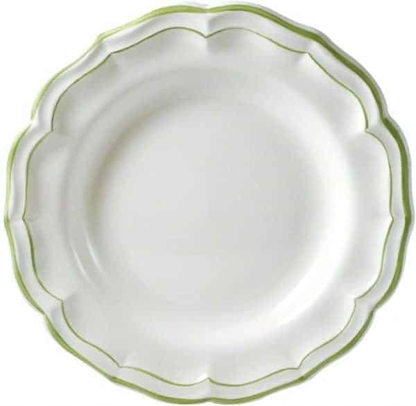 1 Round flat dish