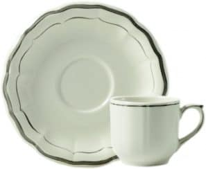 2 Coffee cups & saucers