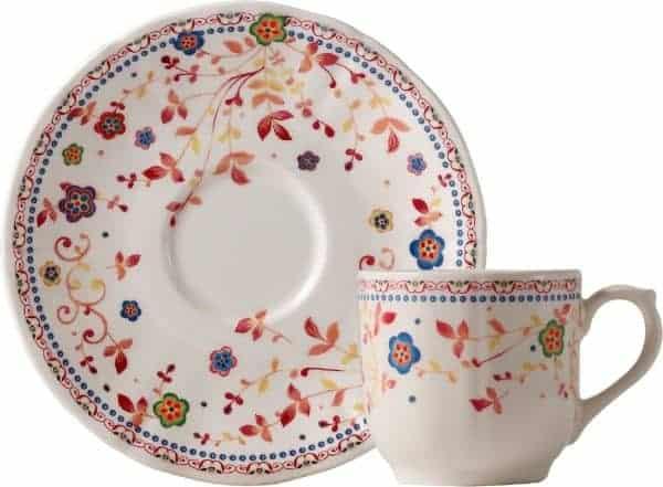 2 Coffee cups & saucers