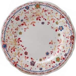 6 Canape plates
