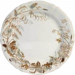 6 Luncheon plates